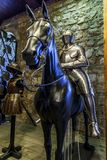 The Armory Chamber of Henry VIII in the Tower of London Stock Images
