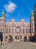 armory gdansk stora poland Arkivfoton