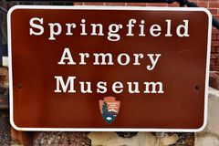 Springfield massachusetts usa armory museum royalty free stock photo