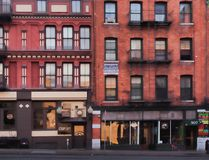 Armory Square store fronts stock photos