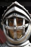 Armour helmet Royalty Free Stock Images