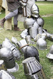 Armour and Helmets Royalty Free Stock Image