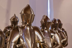 Armour of the knight in Ambras Palace - Innsbruck Austria Royalty Free Stock Image