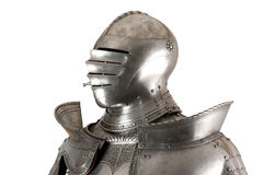 Armour. Of the medieval knight. Metal protection of the soldier against the weapon of the opponent Royalty Free Stock Photos