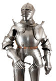 Armour. Of the medieval knight. Metal protection of the soldier against the weapon of the opponent stock images