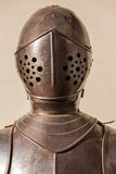Armour. Of the medieval knight metal sword Royalty Free Stock Photos