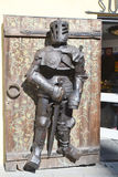 Armour of the medieval knight. Royalty Free Stock Photography