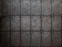Armour metal texture with rivets background. Knight armour metal texture with rivets background stock photo