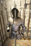 Armour at Oberhofen Castle, Switzerland Royalty Free Stock Photography