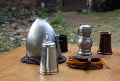 Armour On The Table Stock Images