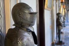 Armour in the President's Palace, Malta. Stock Photography