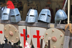 Armour and shields Stock Photo