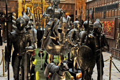 Free Armour Suits In Ricardo Brennand Institute Royalty Free Stock Photo - 40020505