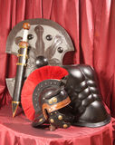 Armour and the weapon Royalty Free Stock Photo