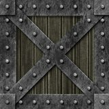 Armoured box generated texture Royalty Free Stock Image