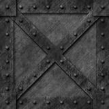 Armoured box generated texture. Or background Stock Photo