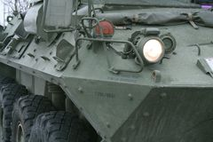 Armoured Car. A Canadian Force Armed Car Royalty Free Stock Image