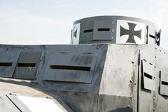 Armoured car of the German army of the First World Royalty Free Stock Photography