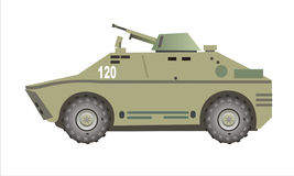 Armoured car west Stock Image