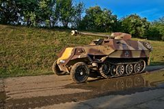 Armoured carrier Stock Photography
