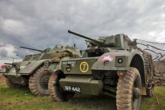 Armoured cars Royalty Free Stock Image