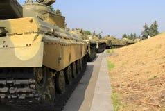 Armoured column Stock Photo