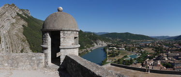 Armoured hut of Sisteron Royalty Free Stock Images