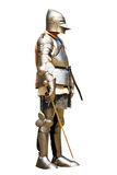 Armoured knight Stock Images