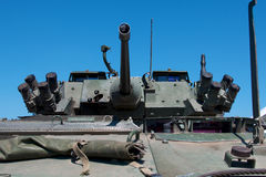 Armoured personel carrier. A Canadian armoured personel carrier Royalty Free Stock Photos