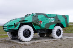 Armoured personnel carrier BTR-40 Royalty Free Stock Image
