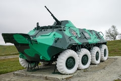 Armoured personnel carrier BTR-60 Stock Photos