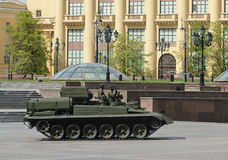 Armoured repair and recovery vehicle BREM-1 Royalty Free Stock Image