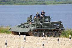 Armoured repair and recovery vehicle Stock Photos