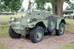 Armoured spanar bilen Arkivfoto