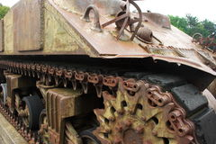 Armoured tracked vehicle Stock Photos