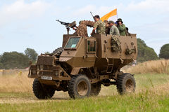 Armoured troop carrier Stock Image