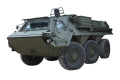 Armoured Vehicle. Royalty Free Stock Photos