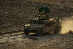 Armoured Vehicles in Afghanistan. In 2017 Royalty Free Stock Photography