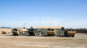 Armoured Vehicles in Afghanistan. In 2017 Royalty Free Stock Photos