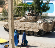 Armoured Vehicles in Afghanistan. In 2017 Royalty Free Stock Photo