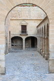 Armoury Court in Ibiza town Royalty Free Stock Image