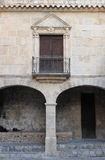 Armoury Court in Ibiza town Royalty Free Stock Photography