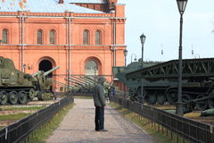 Museum of Artillery Stock Photo