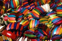 Armreifen vieler Farben Lizenzfreies Stockbild