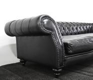 armrest καναπές δέρματος Στοκ Φωτογραφίες