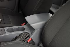 Armrest στο αυτοκίνητο Στοκ εικόνα με δικαίωμα ελεύθερης χρήσης