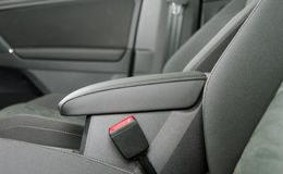 Armrest στο αυτοκίνητο Στοκ Εικόνες