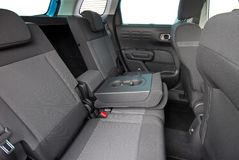 Armrest in the car royalty free stock image