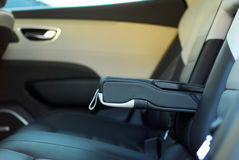 Armrest in the car Royalty Free Stock Images