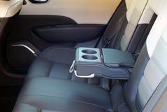 Armrest in the car Stock Photos